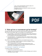 Il y a Leasing Et Leasing