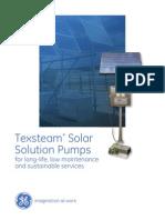 Texsteam Solar Pump Brochure (04.12)