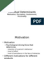 4.Perception Motivn Involvement-Personality