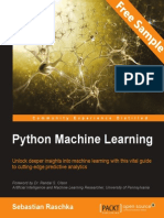 Python Machine Learning - Sample Chapter