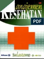 manajemen kesehatan