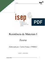 Resistência Dos Materiais - IsEP