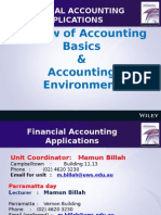Week 1 Review of Accounting Basics