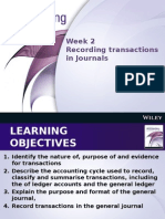 Week 2 Recording Transactions in Journals(1)