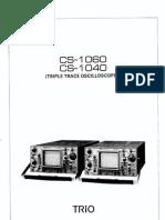 Kennwood Oscilloscope CS-1040