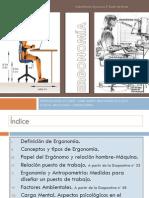 Ergonomia 2º Diseño de Moda.