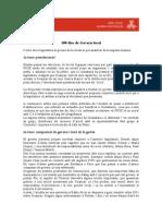 Anàlisi dels 100 primers dies del Govern local d'Alcoi