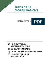 Elementos de La Responsabilidad Civil