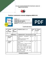 Planificari Calendaristice Manuale Câştigătoare MECS 2015 Litera