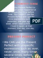 Ingles Present Perfect