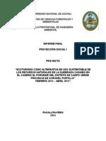 Informe Final de Proyeccion Social de Rafaela