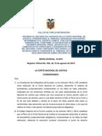 15-10 Triple Reiteracion Admisibilidad Del Recurso de Casacion Penal (v. Pg 20)
