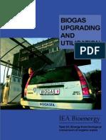 Biogas Upgrading and Utilisation 018031200 1011 24042007