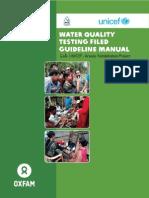 Water Testing Manual