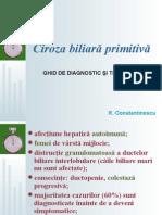Ciroza Biliara Primitiva - Ghid