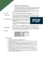 A1 Class Policies English 2015-2