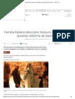 Família Italiana Descobre Tesouro Arqueológico Durante Reforma de Banheiro - Ciência - IG
