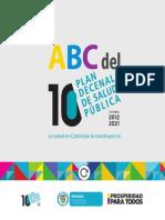 ABC Plan Decenal de Salud Pública