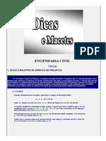Engenharia Civil - Dicas e Macetes