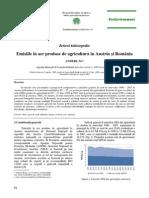 Emisiile În Aer Produse de Agricultura În Austria Si România