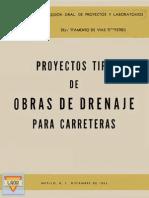 Proyectos Tipo Obras de Drenaje Sahop