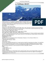 Nevado Sahuasiray 5,818mts