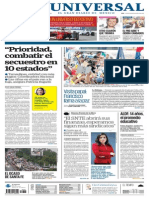 GradoCeroPress-Planas Prin Cipales de Diarios Mexicanos-Lun 21 Septo 2015