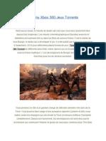 Destiny Xbox 360 Jeux Torrents