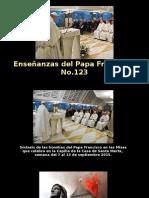 Enseñanzas Del Papa Francisco - Nº 123