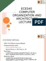 Lecture 0 ECE540