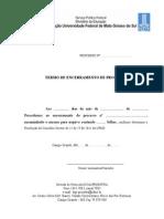 Termo de Encerramento de Processo 2015