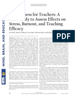 Lectura 5-Curso Junji-Mindfulness- Mindfulness for Teachers-Flook Et Al.