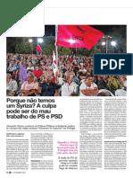 Porque Nao Temos um Syriza?