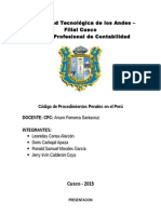 La Pericia en El Nuevo Código Procesal Penal Peruano