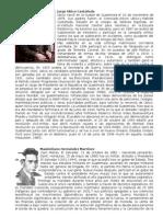 biografias dictadores centroamerica