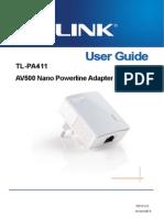 TP Link User Manual TL PA411