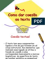 Como Dar Coesão Ao Texto
