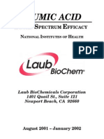 Humic Acid References at NIH