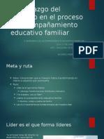 El Liderazgo Del Maestro en El Proceso de Acompañamiento Educativo