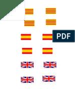 Banderas Lápiz