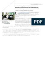 Cómo Es El Sistema de Evaluaciones de Los Alumnos en Otras Partes Del Mundo - Lanacion