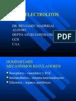 Agua y Electrolitos