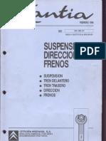 Suspension Citroen Xantia Complete FR