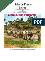 Tião Carreiro e Pardinho - Letras - 04 - Linha de Frente - 1964
