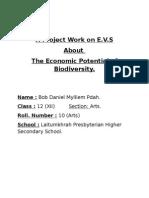 The Economic Potential of Biodiversity