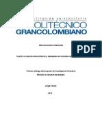 Macroeconomía Intermedia Proyecto de Investigacion
