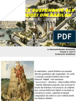 Gradinile Suspendate Ale Semiramidei Din Babilon