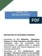 1 Financial Management