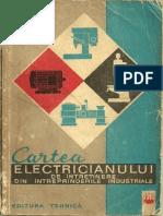 Cartea Electricianului de Intretinere Din Intreprinderile Industriale