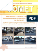 Comet Fall 2015 Newsletter